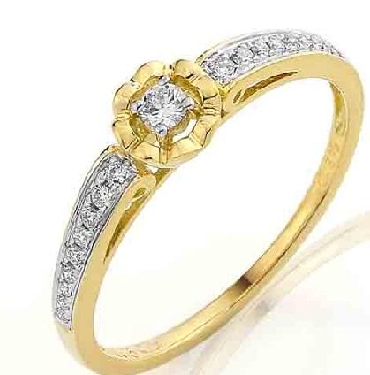 Luxusní zásnubní diamantový prsten s brilianty 3810846