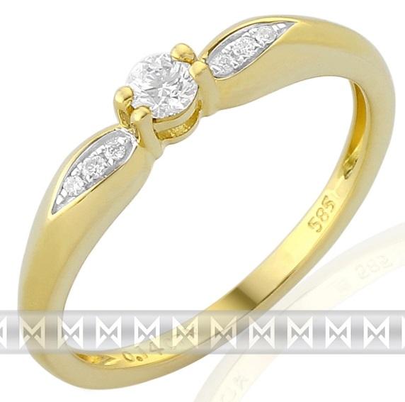 Luxusní zásnubní diamantový prsten posetý brilianty 3811267 POŠTOVNÉ ZDARMA!