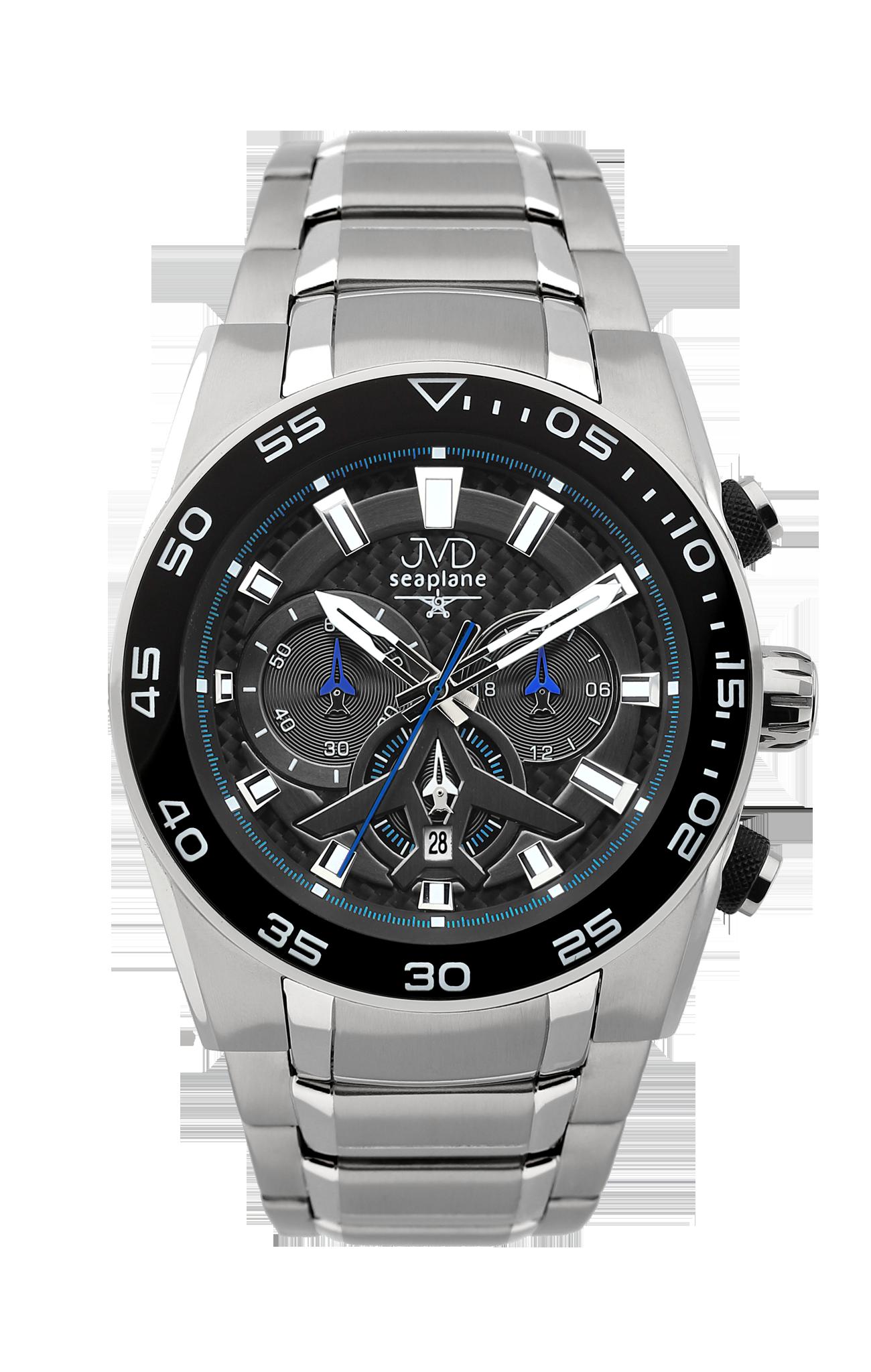 Luxusní vodotěsné sportovní hodinky JVD seaplane W49.2 chornograf se stopkami POŠTOVNÉ ZDARMA!