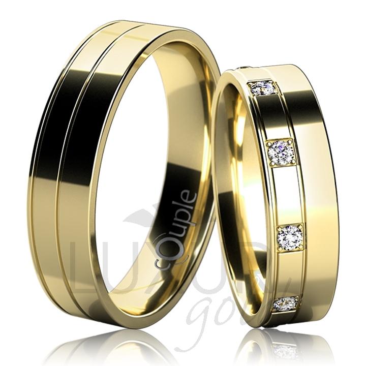 MAURICIUS snubní prsteny žluté zlato C 5 UE 1 (C 5 UE 1 )