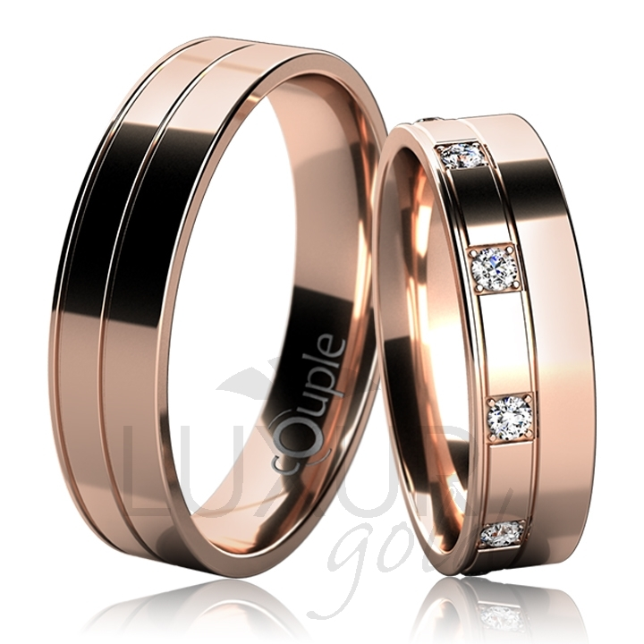 MAURICIUS snubní prsteny červené zlato C 5 UE 1 (C 5 UE 1 )
