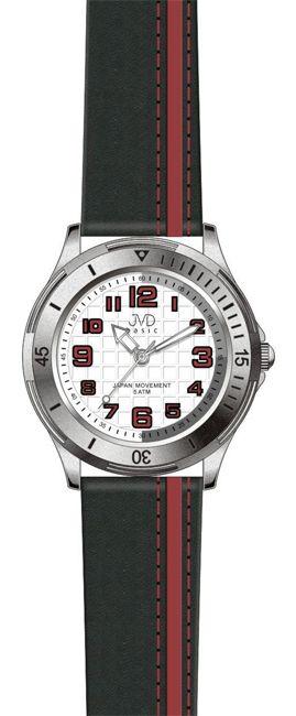 Dětské chlapecké sportovní barevné náramkové hodinky JVD J7081.1 - 5ATM