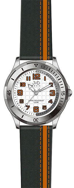Dětské chlapecké sportovní barevné náramkové hodinky JVD J7081.2 - 5ATM