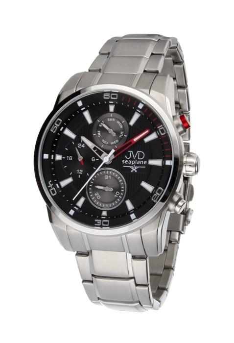 Pánské luxusní vodotěsné chronografy hodinky JVD seaplane W82.1 - 10ATM  POŠTOVNÉ ZDARMA! 056f6cf000