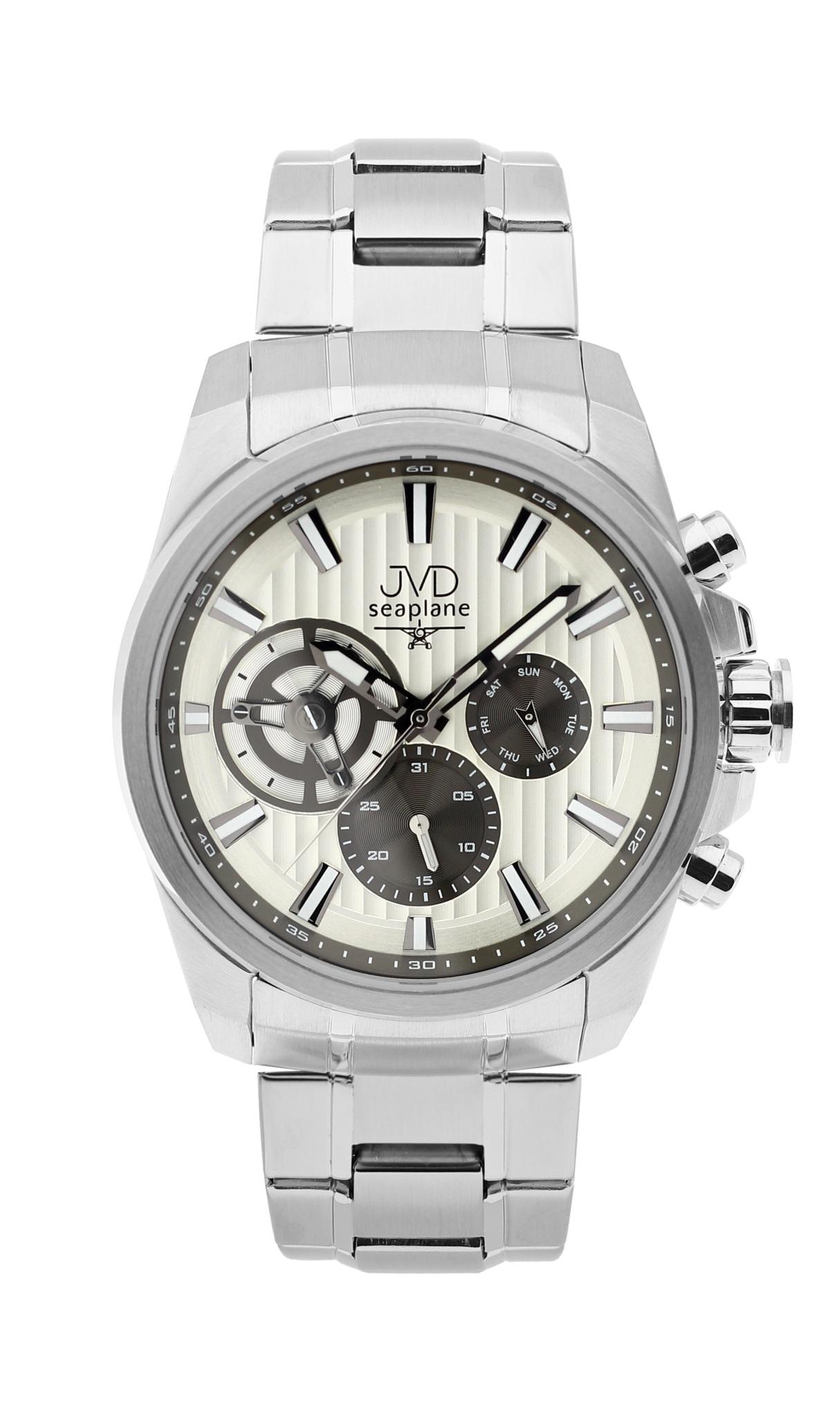 Pánské luxusní vodotěsné chronografy hodinky JVD seaplane W83.1 - 10ATM stopky POŠTOVNÉ ZDARMA!