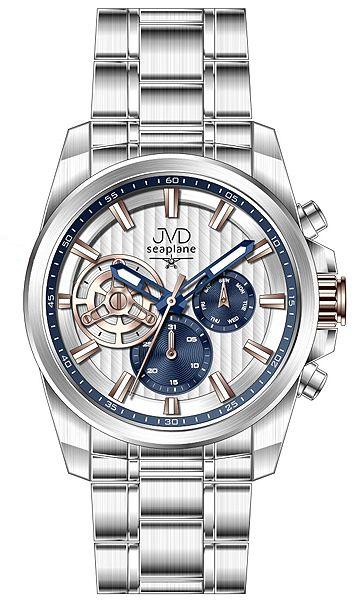 Pánské luxusní vodotěsné chronografy hodinky JVD seaplane W83.2 - 10ATM stopky POŠTOVNÉ ZDARMA!