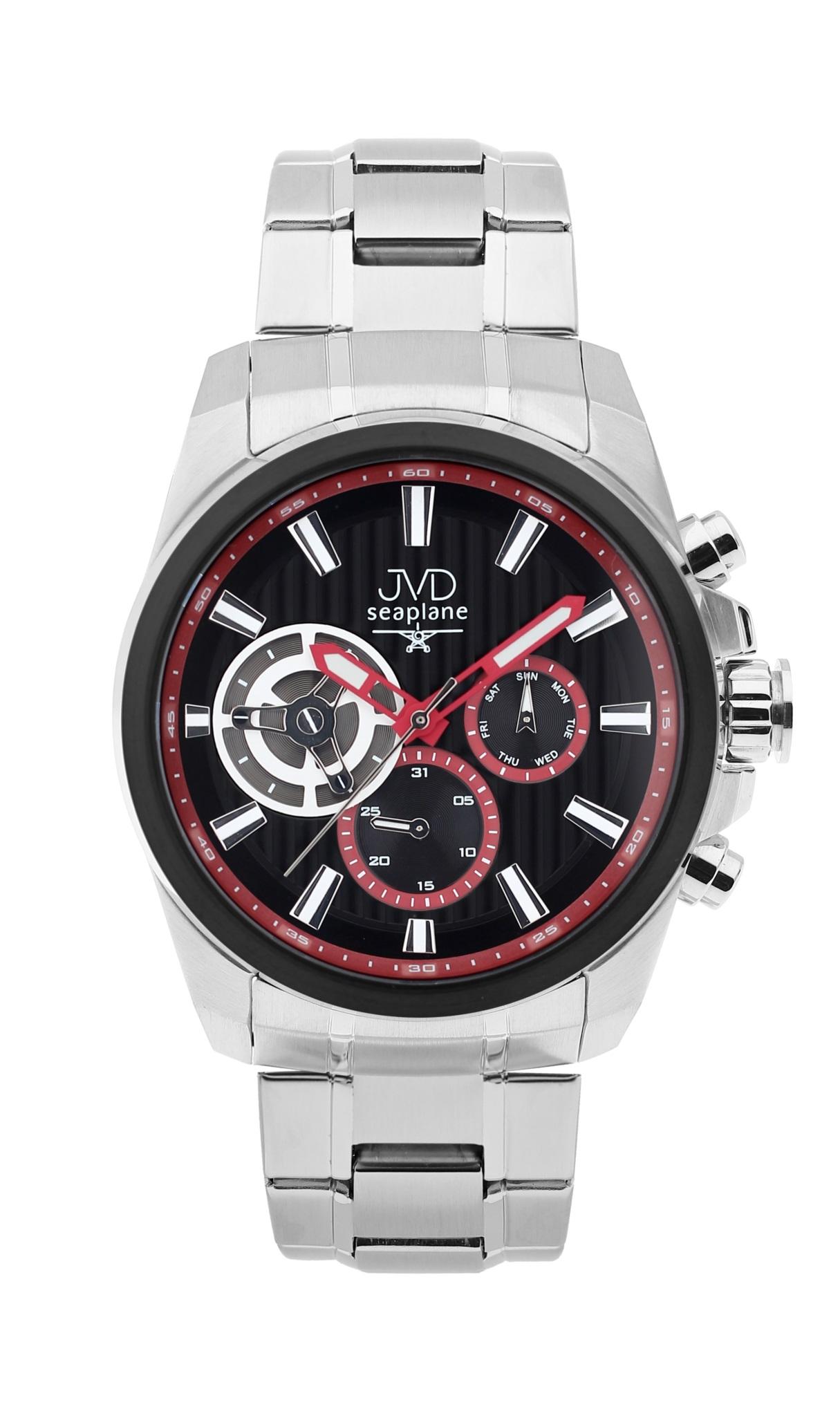 Pánské luxusní vodotěsné chronografy hodinky JVD seaplane W83.3 - 10ATM  stopky POŠTOVNÉ ZDARMA! 6b52fe9fa77