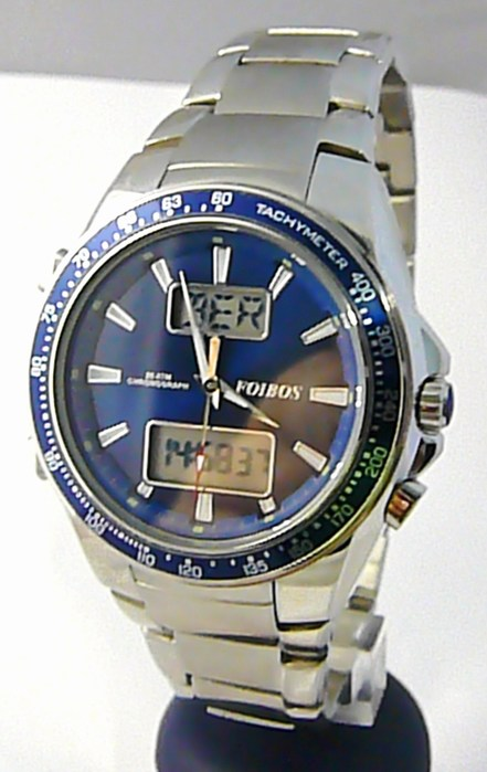 Mohutné pánské luxus vodotěsné hodinky Foibos 10010.2 20ATM digitální chronograf POŠTOVNÉ ZDARMA!