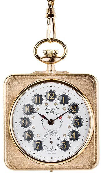 Luxusní mechanické švýcarské kapesní hodinky Lacerta L4007 POŠTOVNÉ ZDARMA!