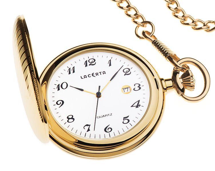 Luxusní švýcarské kapesní hodinky Lacerta LK6 POŠTOVNÉ ZDARMA!