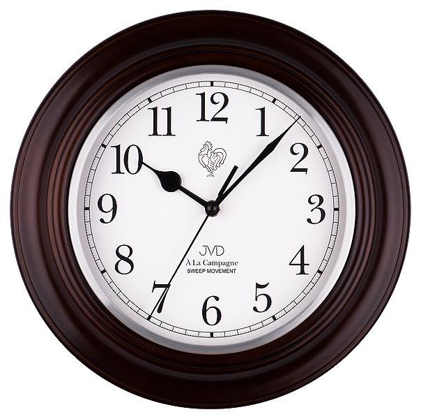Nástěnné netikající tiché hodiny JVD quartz NS27043/23