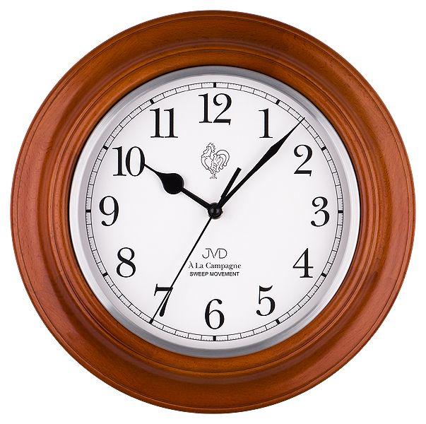 Nástěnné netikající tiché hodiny JVD quartz NS27043/41