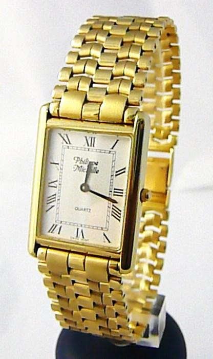 Luxusní společenské pánské švýcarské zlaté hodinky Philippe Michelle 585/62,79gr POŠTOVNÉ ZDARMA!