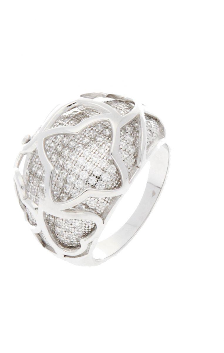 Luxusní stříbrný prsten SVLR1550061