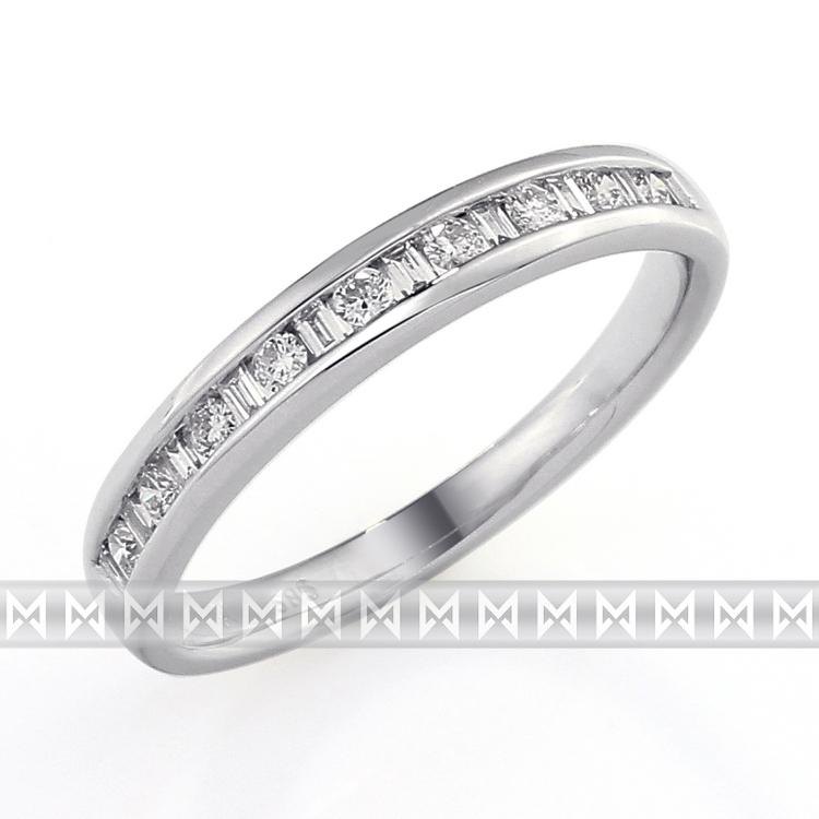 Luxusní dámský zlatý diamantový prsten s diamantem, bílé zlato brilianty 386167 POŠTOVNÉ ZD