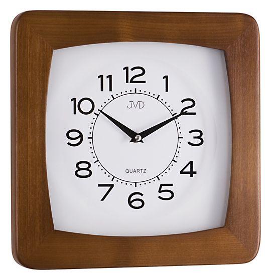 Dřevěné čitelné nástěnné hodiny JVD N29041/11