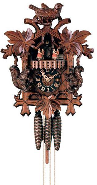 Tradiční ručně vyrobené řezané kukačky Hönes s jednodenním strojkem K603/4T