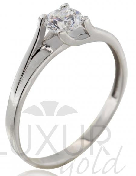 Dámský zásnubní zlatý prsten s velkým zirkonem 585/1,40 gr vel. 57 P553 POŠTOVNÉ ZDARMA! (1161250)