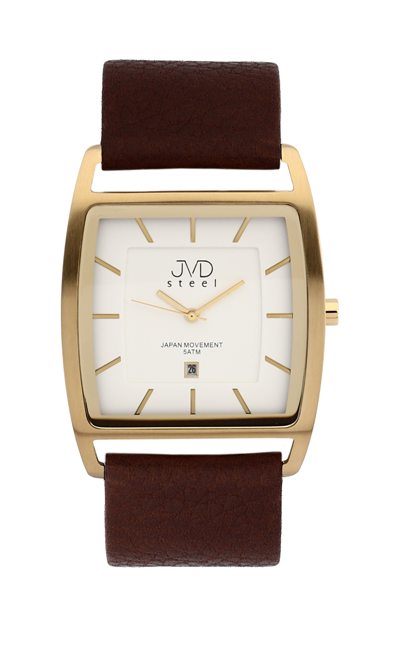 Ocelové moderní hodinky JVD steel J1060.2 - UNISEX - 5ATM POŠTOVNÉ ZDARMA!
