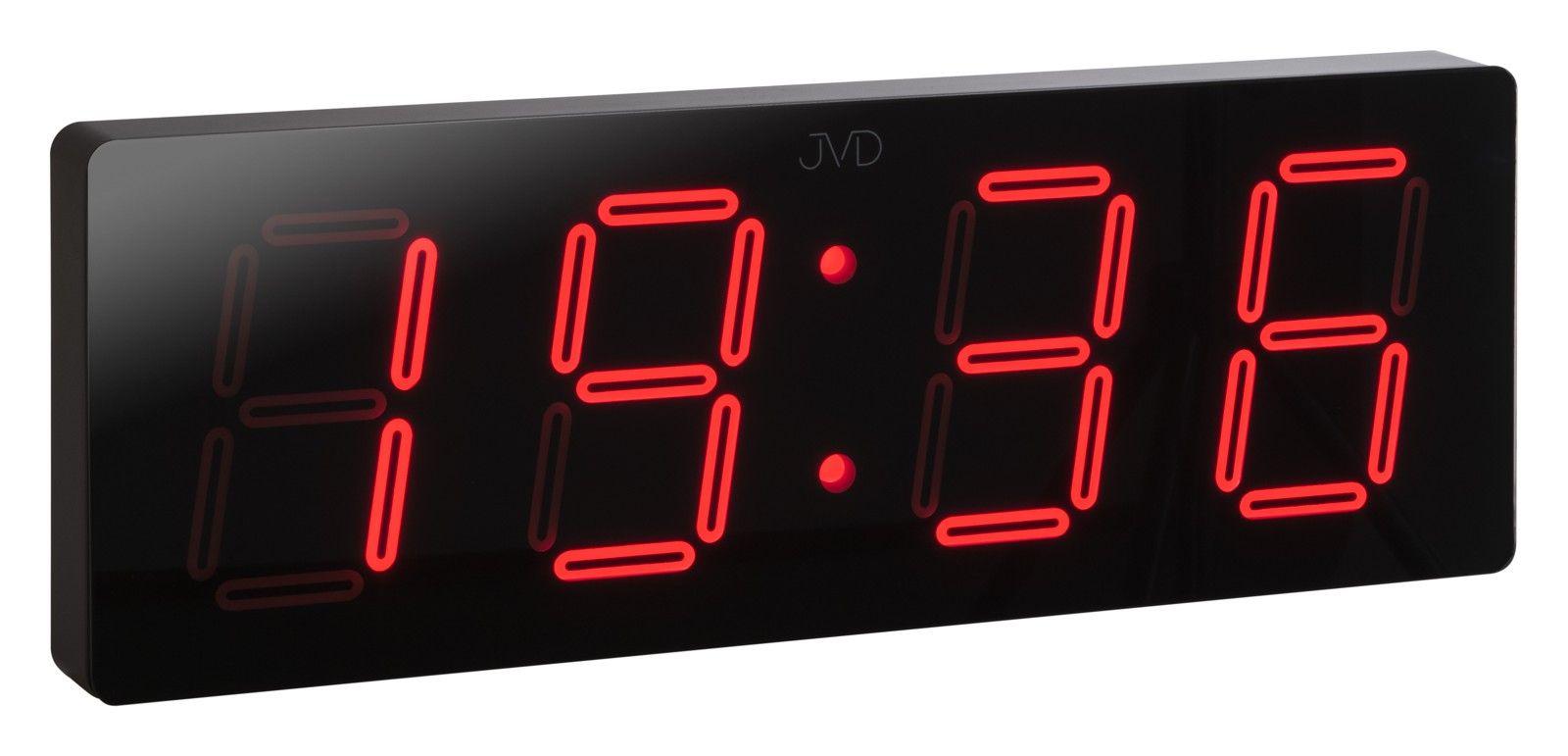 Velké svítící digitální moderní hodiny JVD DH1.1 s červenými číslicemi POŠTOVNÉ ZDARMA! (SKLADEM !!! DOPRAVA ZDARMA)