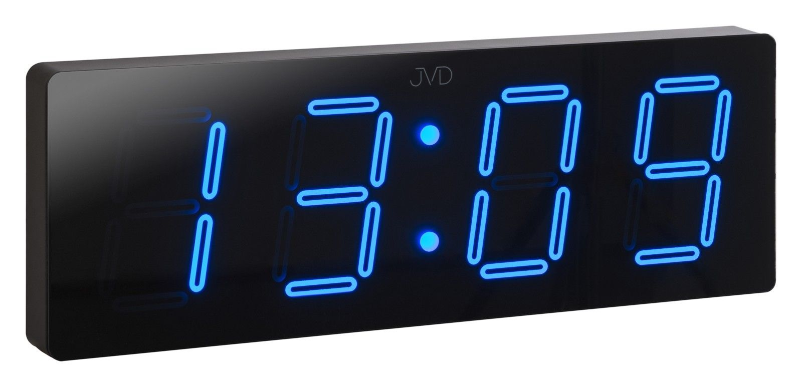 Velké svítící digitální moderní hodiny JVD DH1.2 s modrými číslicemi POŠTOVNÉ ZDARMA!