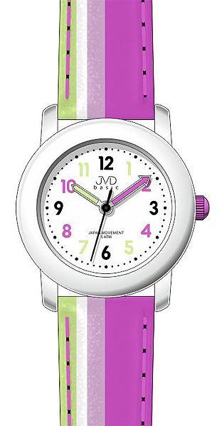 Růžové dětské dívčí hodinky JVD basic J7116.2 - 5ATM