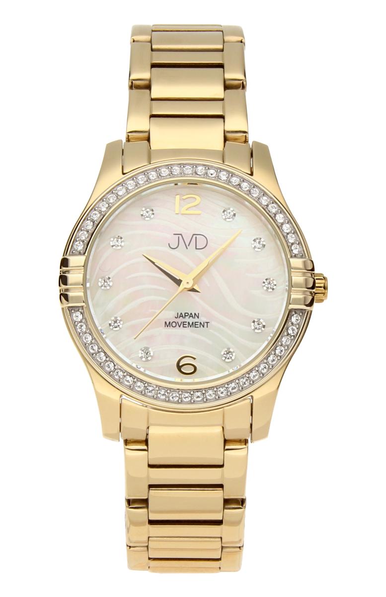 Šperkové perleťové nerezové dámské hodinky JVD JC164.2 - 5ATM POŠTOVNÉ ZDARMA!!