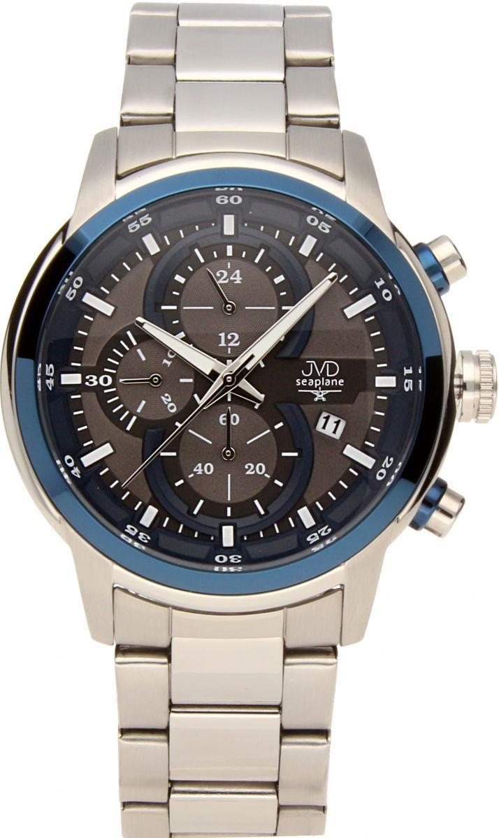 Vysoce odolné vodotěsné chronografy hodinky JVD seaplane JC667.2 10ATM POŠTOVNÉ ZDARMA!! (POŠTOVNÉ ZDARMA!!)