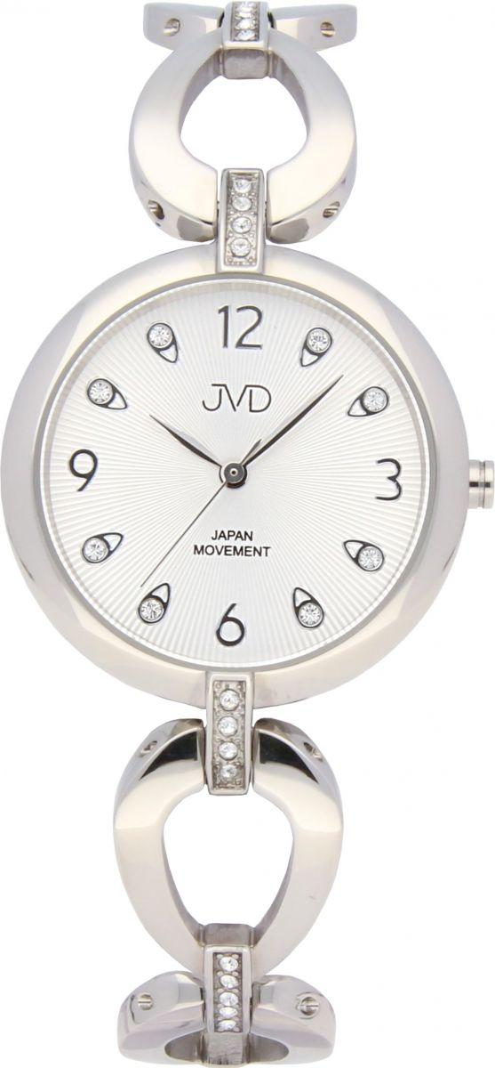 6526fe612b2 Dámské ocelové nerezové šperkové hodinky JVD JC081.1 - 5ATM POŠTOVNÉ  ZDARMA!!