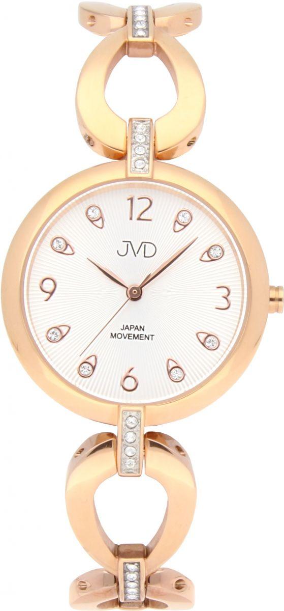 Dámské ocelové nerezové šperkové hodinky JVD JC081.3 - 5ATM POŠTOVNÉ  ZDARMA!! 173af7dd597