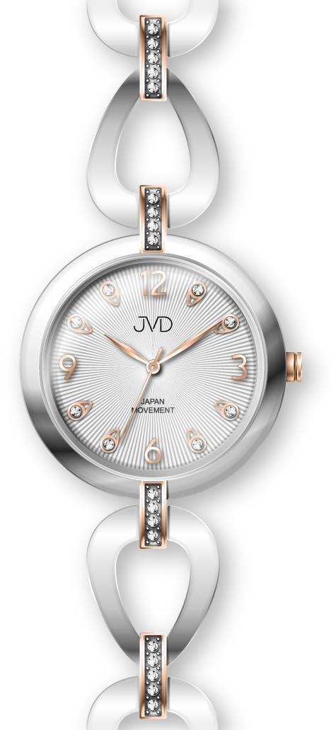 Dámské ocelové nerezové šperkové hodinky JVD JC081.5 - 5ATM POŠTOVNÉ ZDARMA !! 5fbe0a0df53