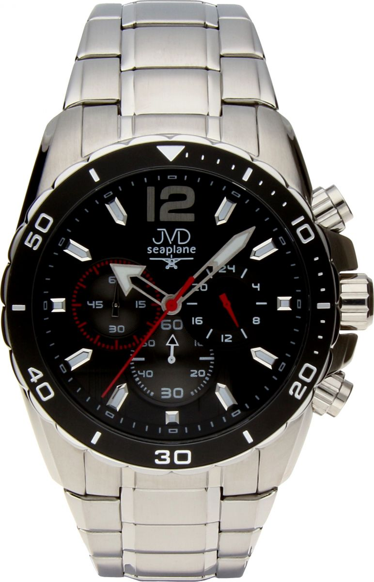 Luxusní vodotěsné sportovní hodinky JVD W90.1 Seaplane s chronografem POŠTOVNÉ ZDARMA!! (POŠTOVNÉ ZDARMA)