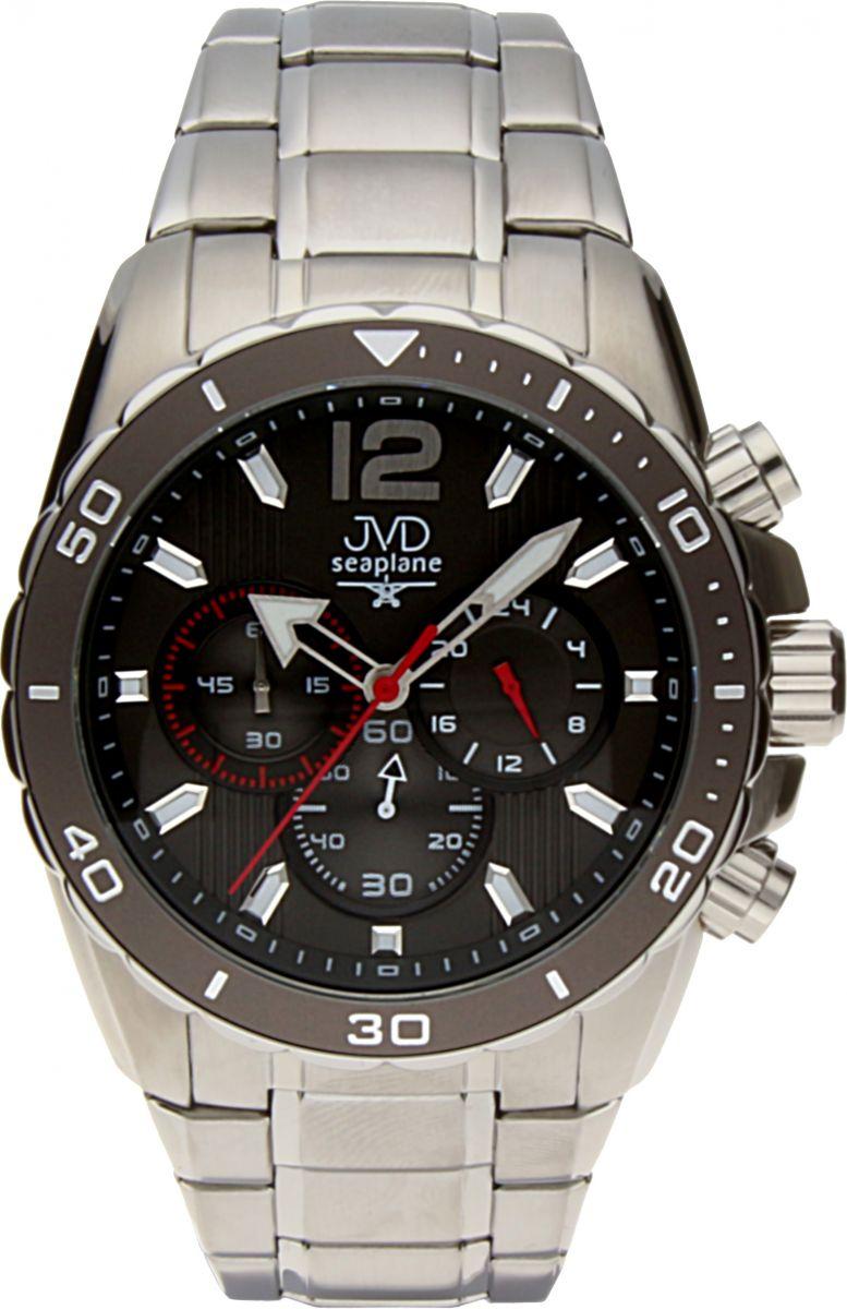 Luxusní vodotěsné sportovní hodinky JVD W90.2 Seaplane s chronografem POŠTOVNÉ ZDARMA!! (POŠTOVNÉ ZDARMA)