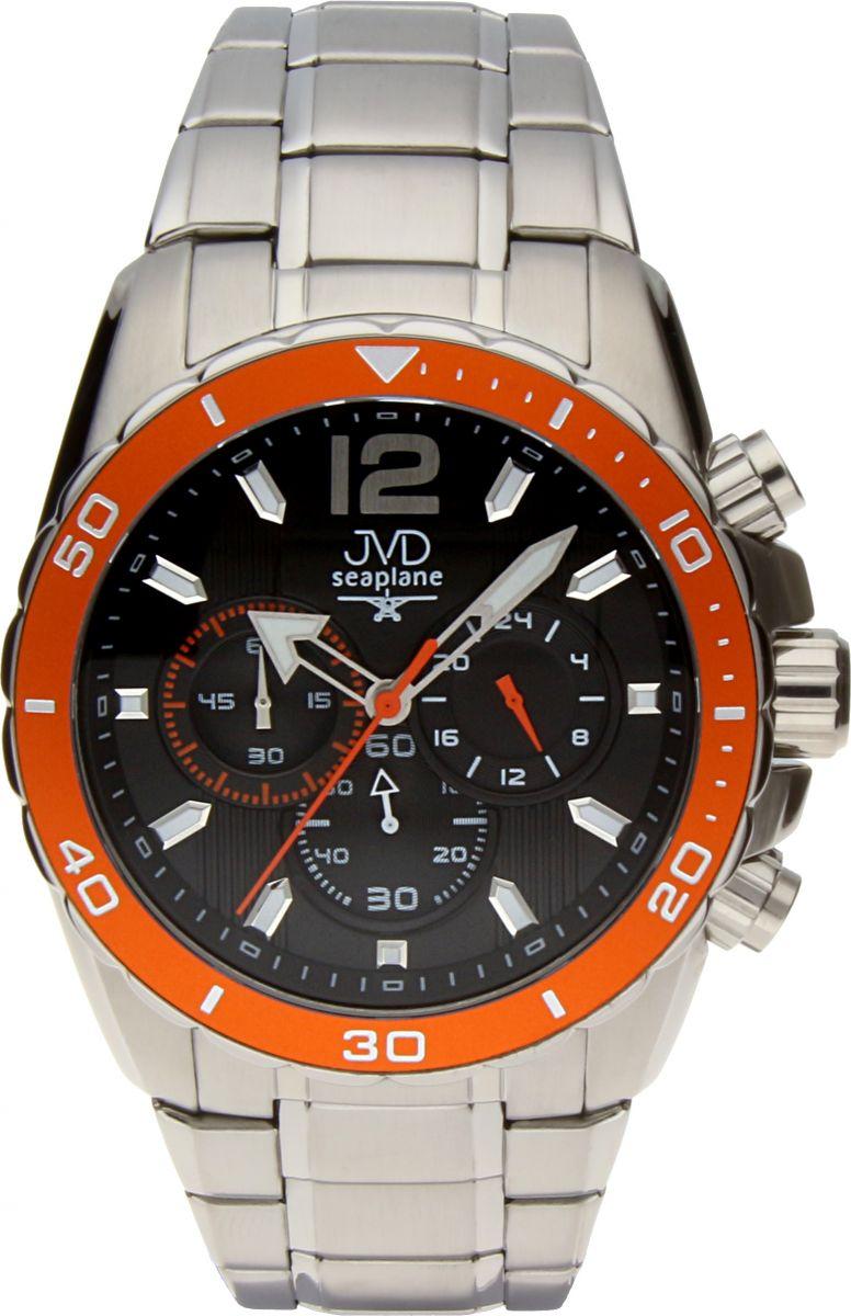 Luxusní vodotěsné sportovní hodinky JVD W90.3 Seaplane s chronografem POŠTOVNÉ ZDARMA!! (POŠTOVNÉ ZDARMA)