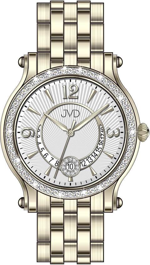 Dámské voděodolné šperkové elegantní hodinky JVD W87.2 POŠTOVNÉ ZDARMA!! (POŠTOVNÉ ZDARMA!!)