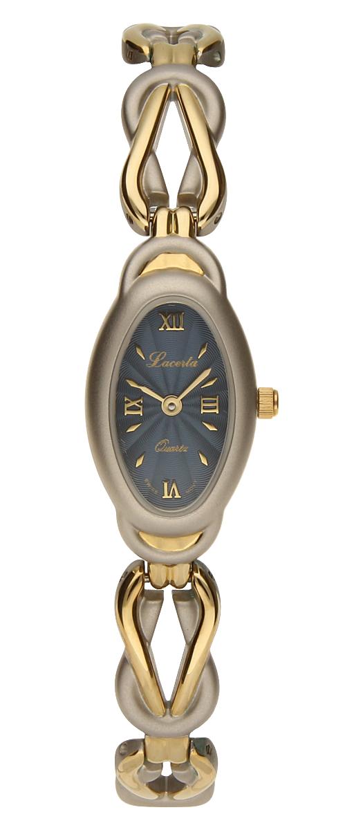 Dámské luxusní švýcarské ocelové hodinky Lacerta 751 244 64 se safírovým sklem (POŠTOVNÉ ZDARMA!!)