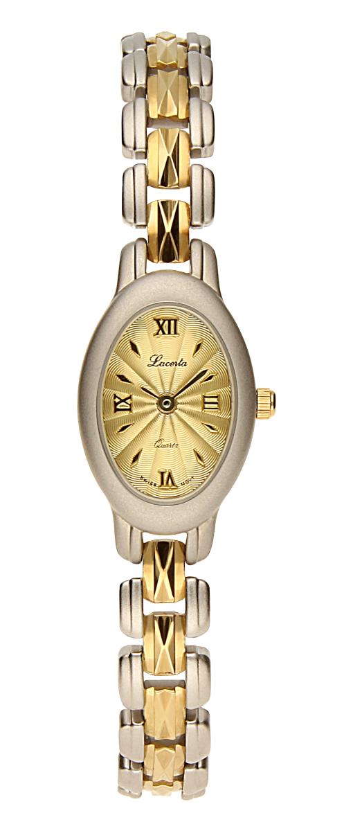 Dámské luxusní švýcarské ocelové hodinky Lacerta 751 251 40 se safírovým sklem ( )