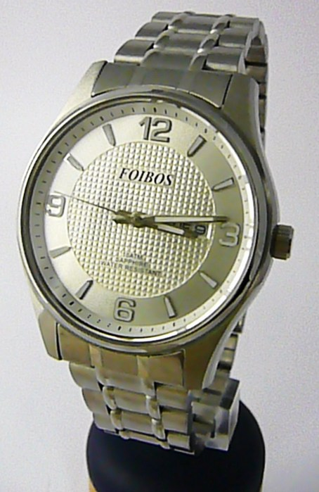 de0a07fe139 Vodotěsné pánské ocelové hodinky Foibos 6370.1 se safírovým sklem POŠTOVNÉ  ZDARMA!! (POŠTOVNÉ ZDARMA