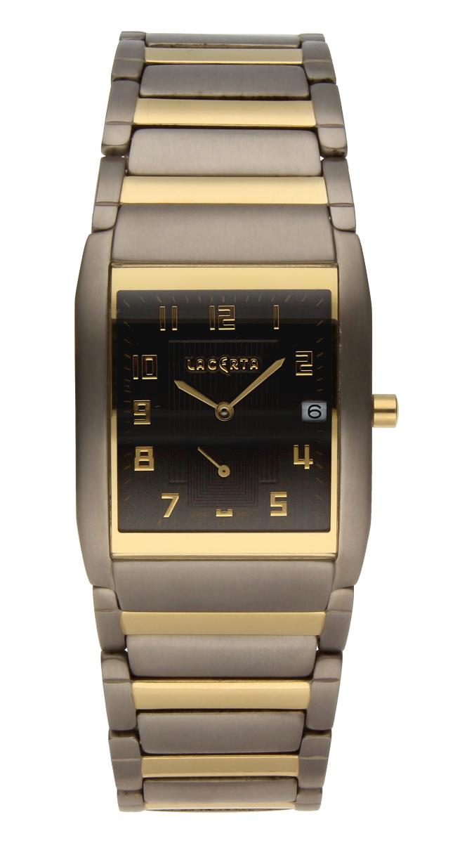 Luxusní pánské švýcarské titanové hodinky Lacerta 109 C7 554 se safírovým sklem (POŠTOVNÉ ZDARMA!!)