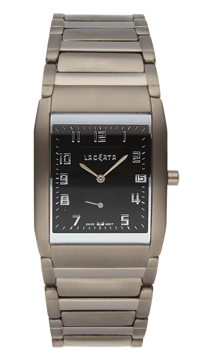 Luxusní pánské švýcarské titanové hodinky Lacerta 109 C9 553 se safírovým sklem (POŠTOVNÉ ZDARMA!!)