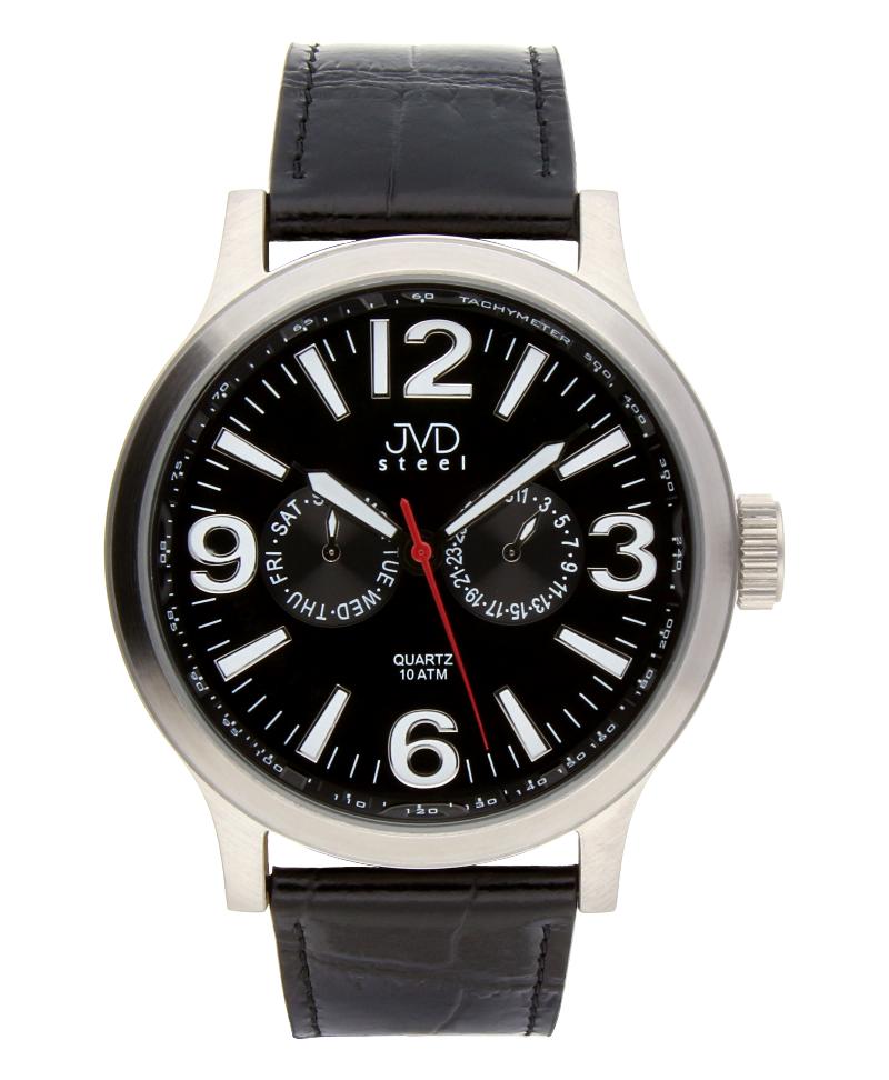 Luxusní pánské vodotěsné hodinky J1001.2 na kůži se safírovým sklem (POŠTOVNÉ ZDARMA!!)