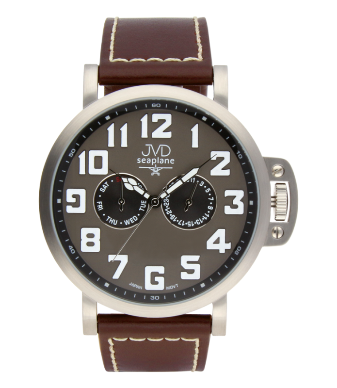 18a1beee06e Luxusní pánské vodotěsné ocelové hodinky hodinky JVD Seaplane JA1323.2  (POŠTOVNÉ ZDARMA!