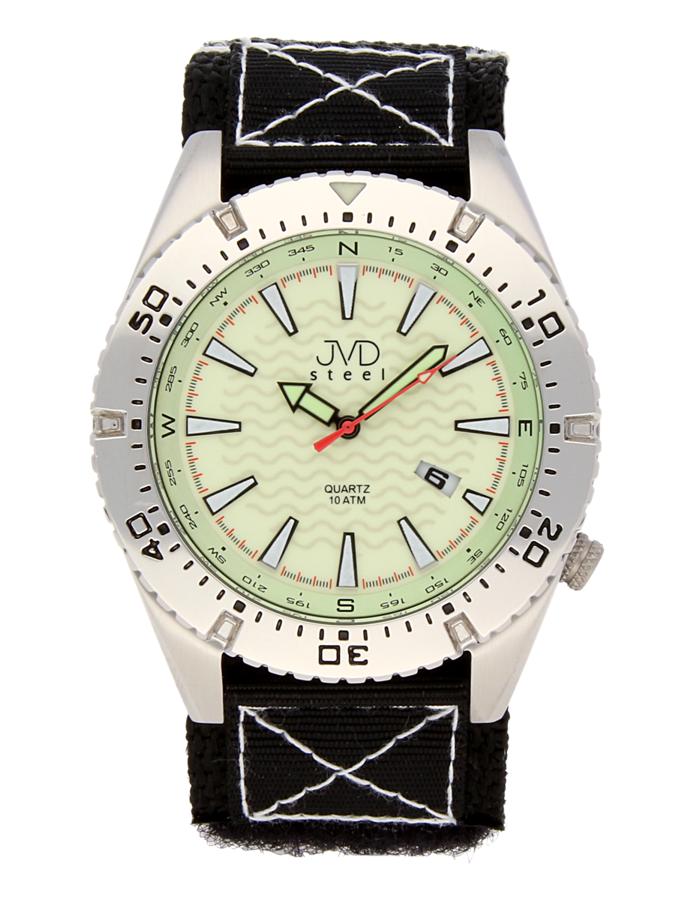 Odolené nerezové pánské vodotěsné hodinky J1008.1 - 10ATM