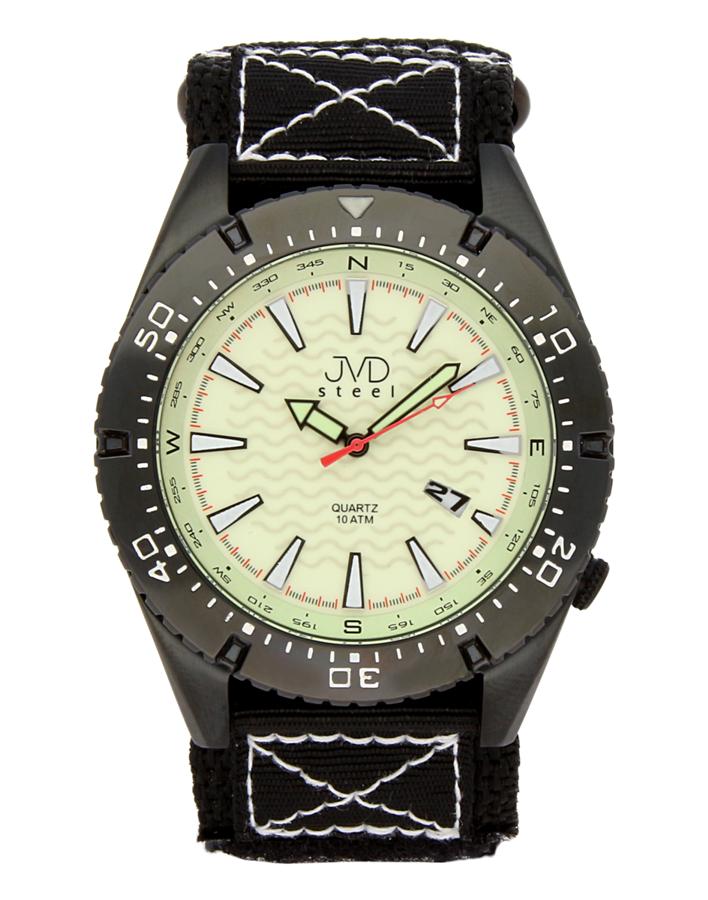Odolené nerezové pánské vodotěsné hodinky J1008.2 - 10ATM