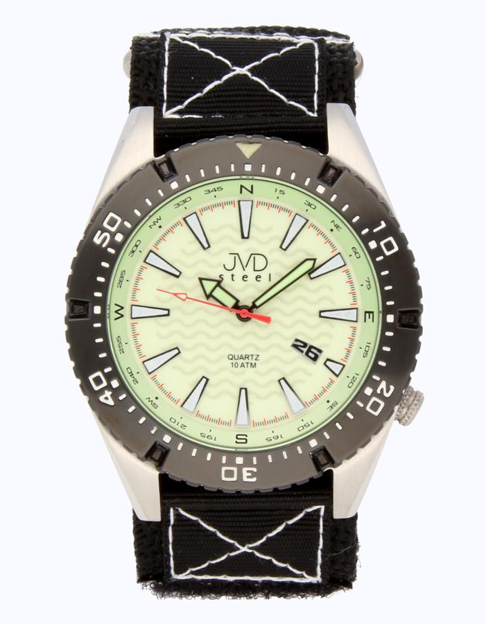 Odolené nerezové pánské vodotěsné hodinky J1008.3 - 10ATM
