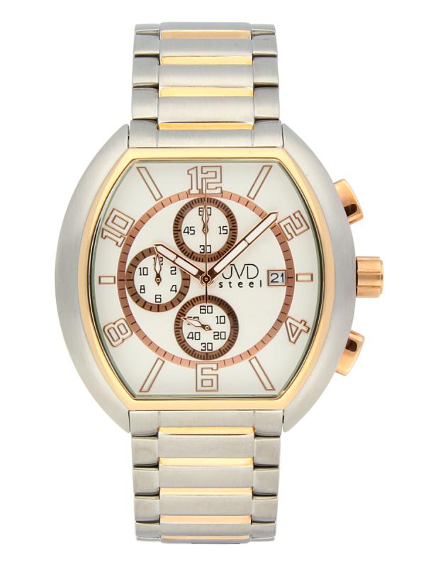 Pánské nerezové nadčasové áramkové hodinky JVDC 745.1 - 5ATM POŠTOVNÉ ZDARMA!! (POŠTOVNÉ