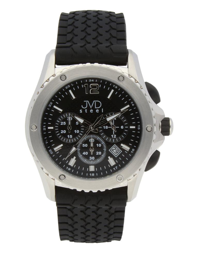 Luxusní vodotěsné pánské hodinky s chronografem JVD C 2079.2 POŠTOVNÉ ZDARMA!! (POŠTOVNÉ ZDARMA!!)