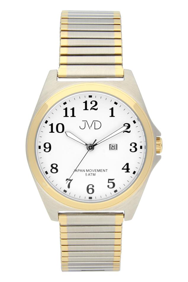 Pánské nerezové voděodolné hodinky J1106.3 na natahovacím pásku IPGold (POŠTOVNÉ ZDARMA!!)