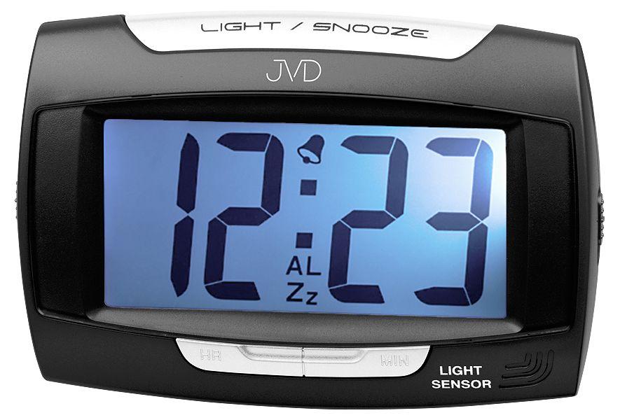 Černý luxusní digitální budík JVD SB91.10