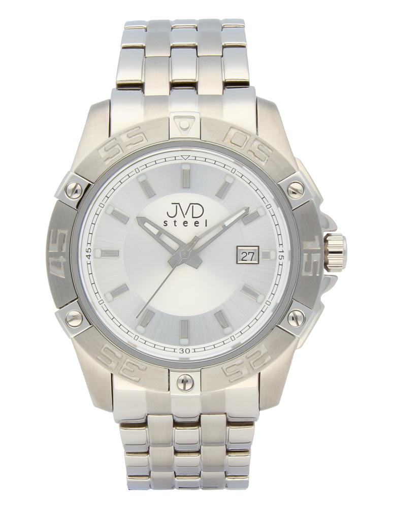 Mohutné vodotěsné ocelové hodinky JVDC 1160.1 - 10ATM POŠTOVNÉ ZDARMA!! (POŠTOVNÉ ZDARMA!!)